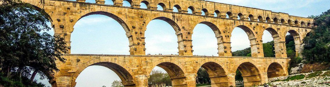 Pont du Gard proche de Nîmes